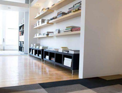 Famille de tapis pour aménagement de bureaux