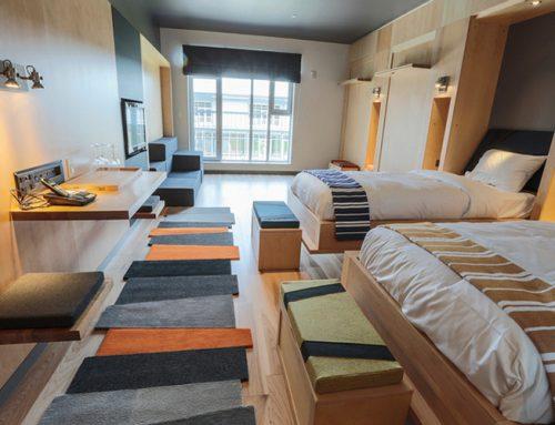 Tapis pour les chambres de l'Hôtel La Ferme – Nomade