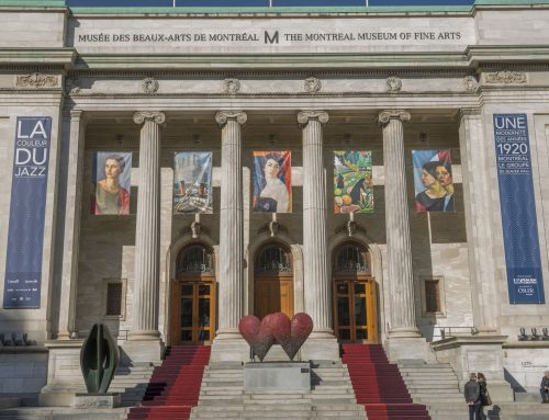 Outdoor carpet for the entrance of the Musée des Beaux-Arts de Montréal