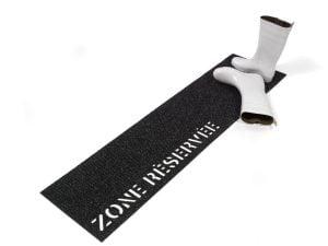 Paillasson - Zone réservée