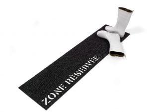 Doormat - Zone réservée - Couper Croiser
